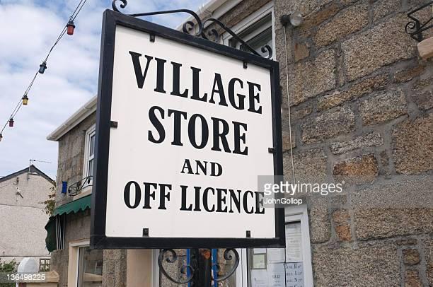 Village Stores Sign