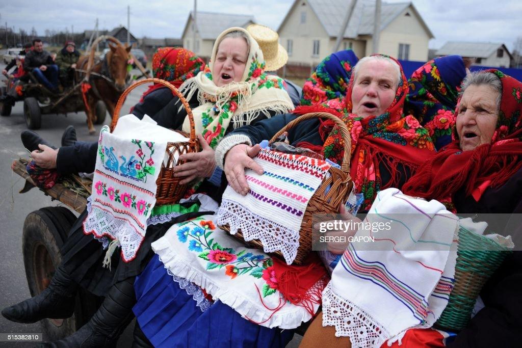 Holiday of ukraine wife maslenitsa