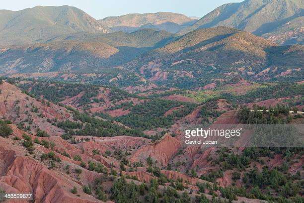 Villages in the Atlas mountains