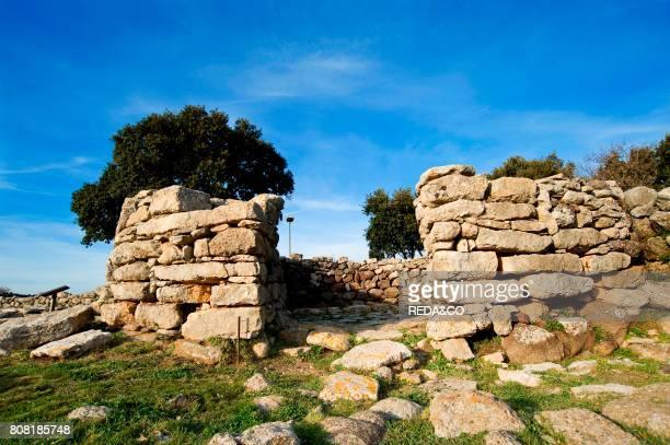 Villaggio Nuragico nuragic village Serri Provincia di Cagliari Sardinia Italy Europe