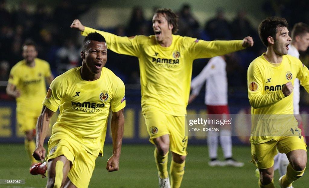 Villarreal CF v FC Salzburg - UEFA Europa League Round of 32