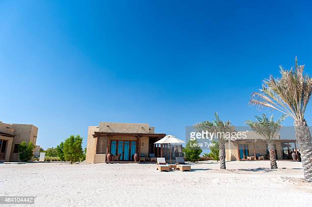 Villas at the Anantara Al Yamm Villa Resort on Sir Bani Yas an island in the Persian Gulf and once the private retreat of the United Arab Emirates...