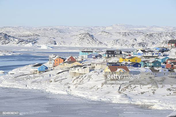 Ville de Ilulissat au Groendland