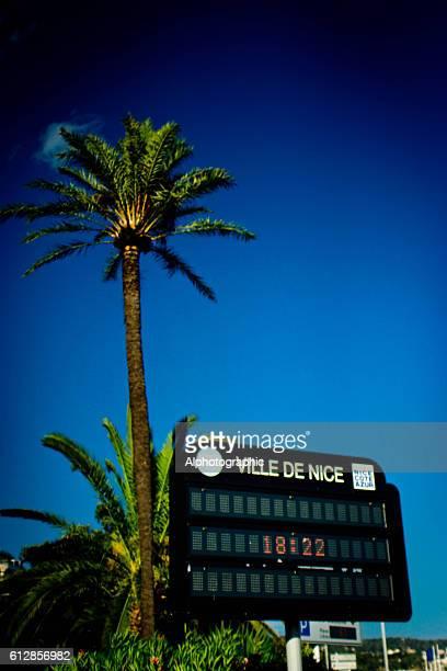 Ville de Nice sign