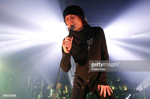 Ville Valo of HIM performs at KOKO on October 31 2013 in London England