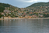 Villefranche  Harbour from a cruise ship anchored in the harbour