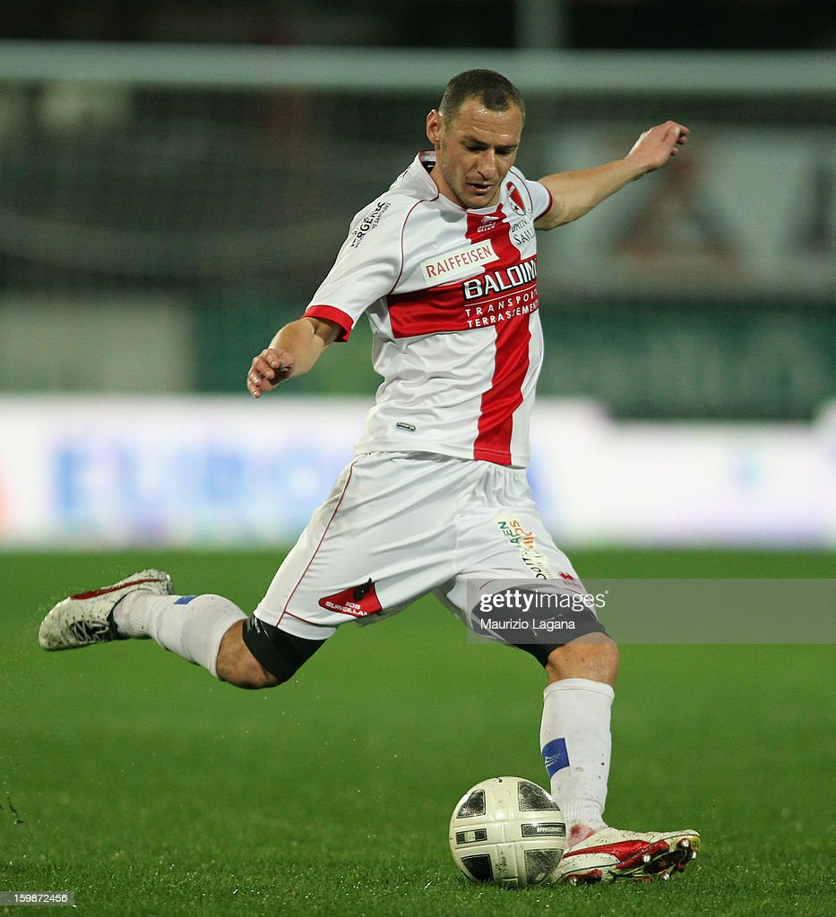 Vilmos Vanczak of Sion during the friendly match between Reggina Calcio and FC Sion on January 18, 2013 in Reggio Calabria, Italy.