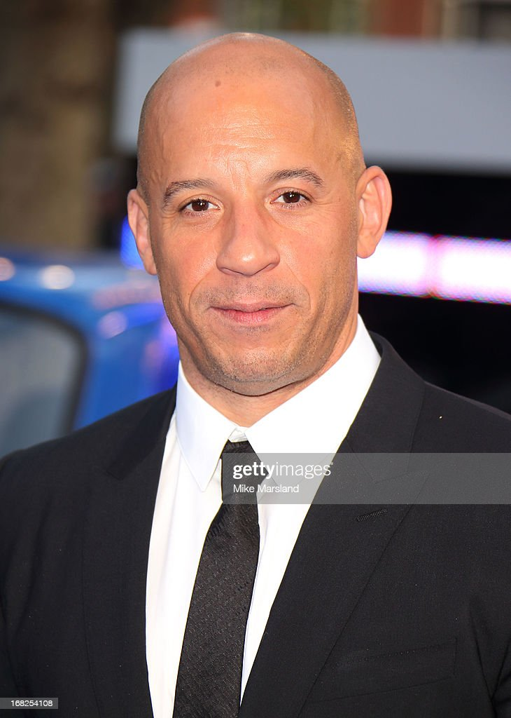 <a gi-track='captionPersonalityLinkClicked' href=/galleries/search?phrase=Vin+Diesel&family=editorial&specificpeople=171983 ng-click='$event.stopPropagation()'>Vin Diesel</a> attends the World Premiere of 'Fast & Furious 6' at Empire Leicester Square on May 7, 2013 in London, England.