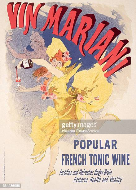 Vin Mariani combined Bordeaux wine with cocaine and was a popular tonic in the late 1800s