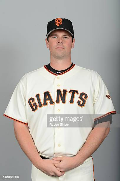 Vin Mazzaro of the San Francisco Giants poses during Photo Day on Sunday February 28 2016 at Scottsdale Stadium in Scottsdale Arizona