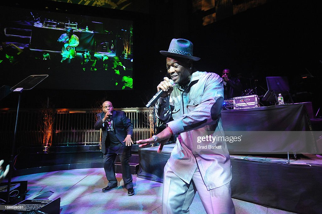 Vin Rock and Treach members of the music group Naughty by Natureattends the 7th Annual Heath Corps Grassroots Garden Gala at Gotham Hall on April 17, 2013 in New York City.