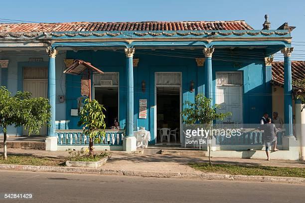 Vinales town, restaurant