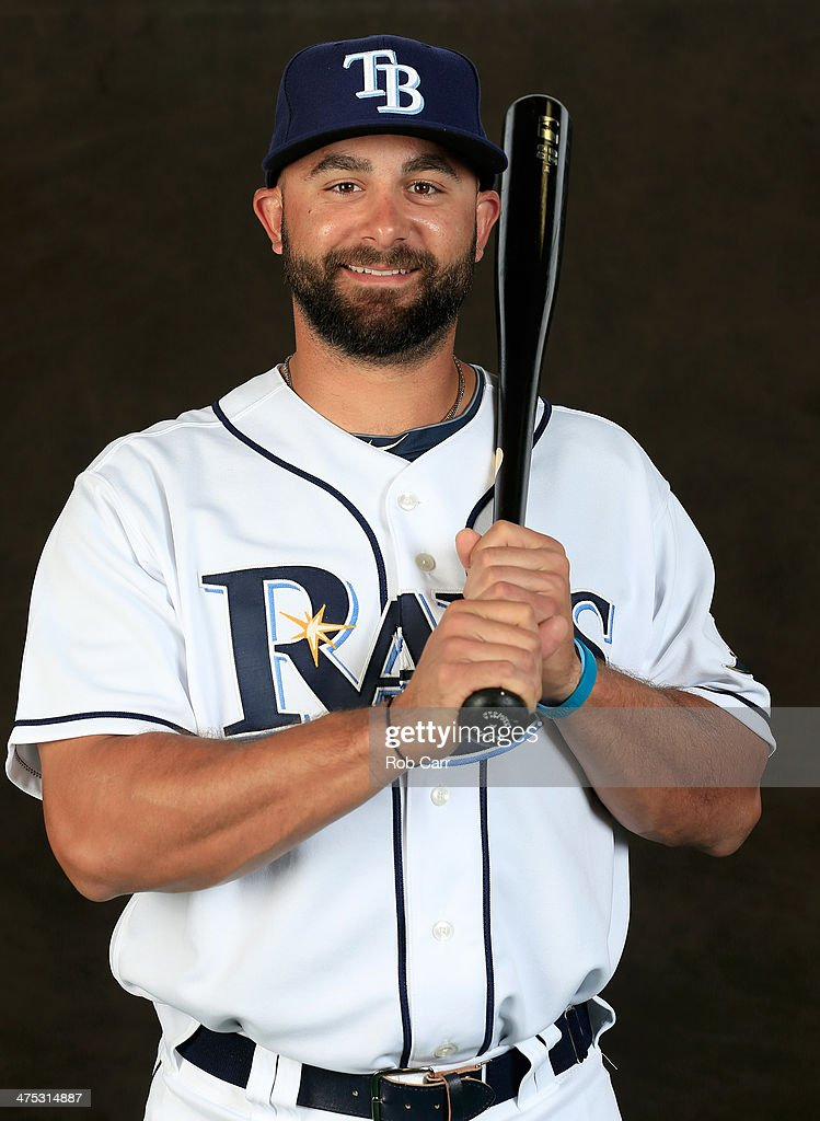 Vince Belnome #30 of the Tampa Bay Rays poses for a portrait at Charlotte Sports Park during photo day on February 26, 2014 in Port Charlotte, Florida.