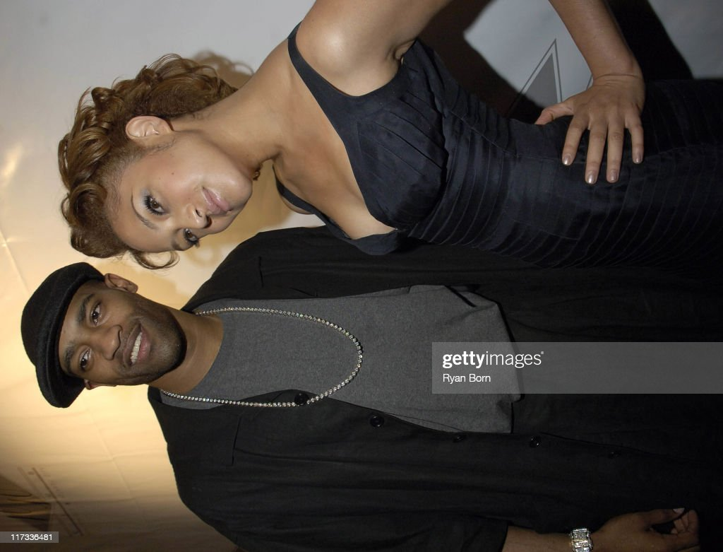 Vince Carter and Naima Mora Winner of America's Next Top Model Season Two