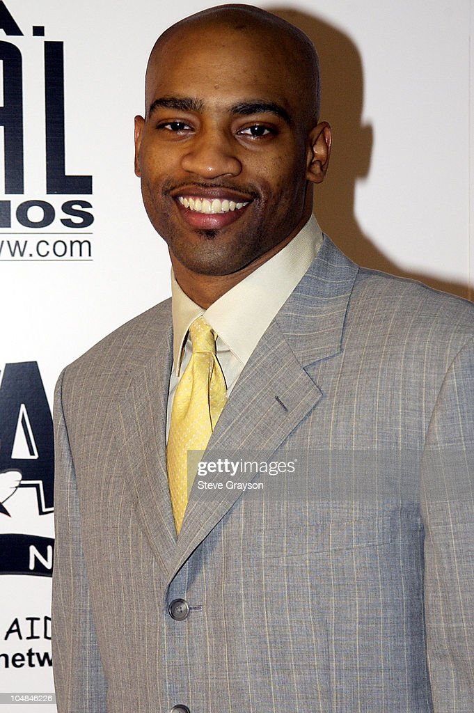 Vince Carter during 'Light As A Feather' Fashion Show Uniting Fashion And Music On The West Coast at The Los Angeles Convention Center in Los Angeles...
