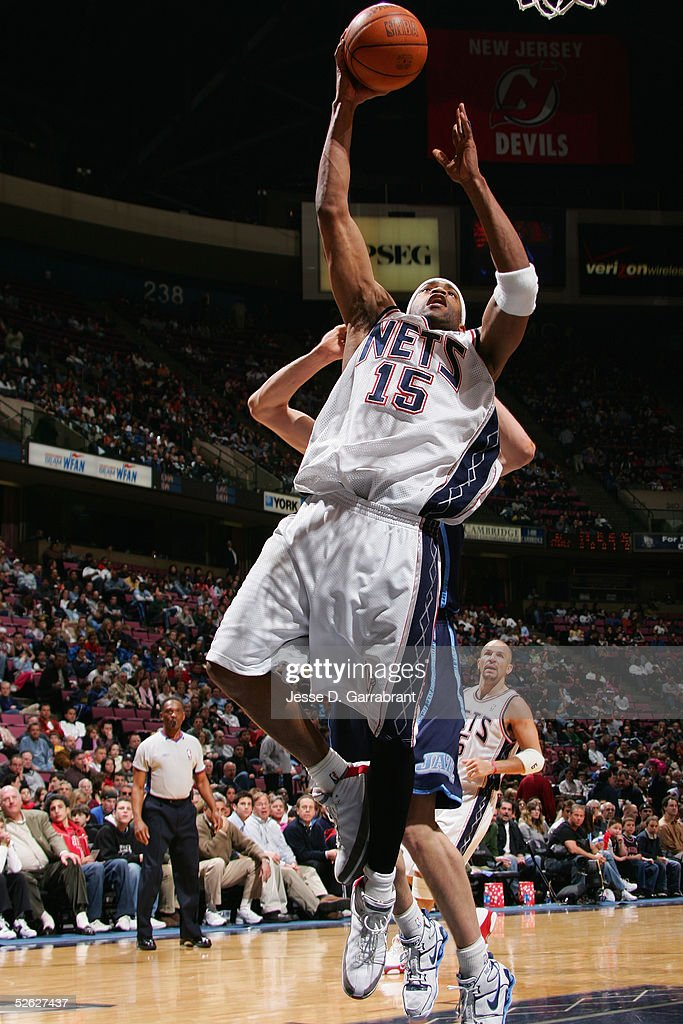 2eec67a1e76 ... australia vince carter 15 of the new jersey nets shoots against the  utah jazz on march italy autographed signed brian scalabrine ...