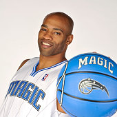 Vince Carter of the Orlando Magic poses for a portrait on June 24 2009 at the RDV Sportsplex in Maitland Florida NOTE TO USER User expressly...