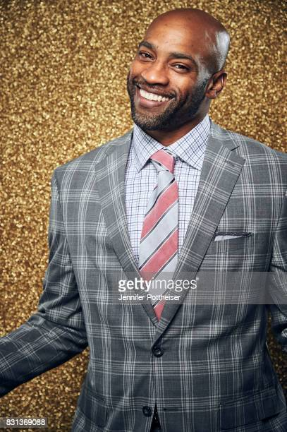 Vince Carter poses for a portrait at the NBA Awards Show on June 26 2017 at Basketball City at Pier 36 in New York City New York NOTE TO USER User...