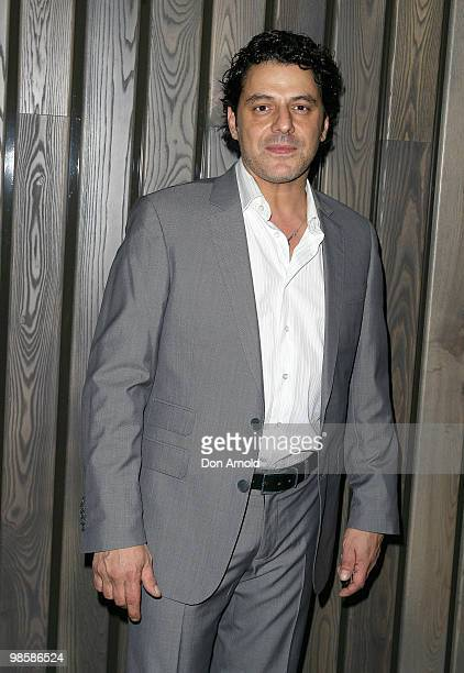 Vince Colosimo attends the opening party of the Crown Metropol hotel on April 21 2010 in Melbourne Australia