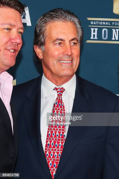 Vince Ferragamo on the Red Carpet at the 2017 NFL Honors on February 04 at the Wortham Theater Center in Houston Texas