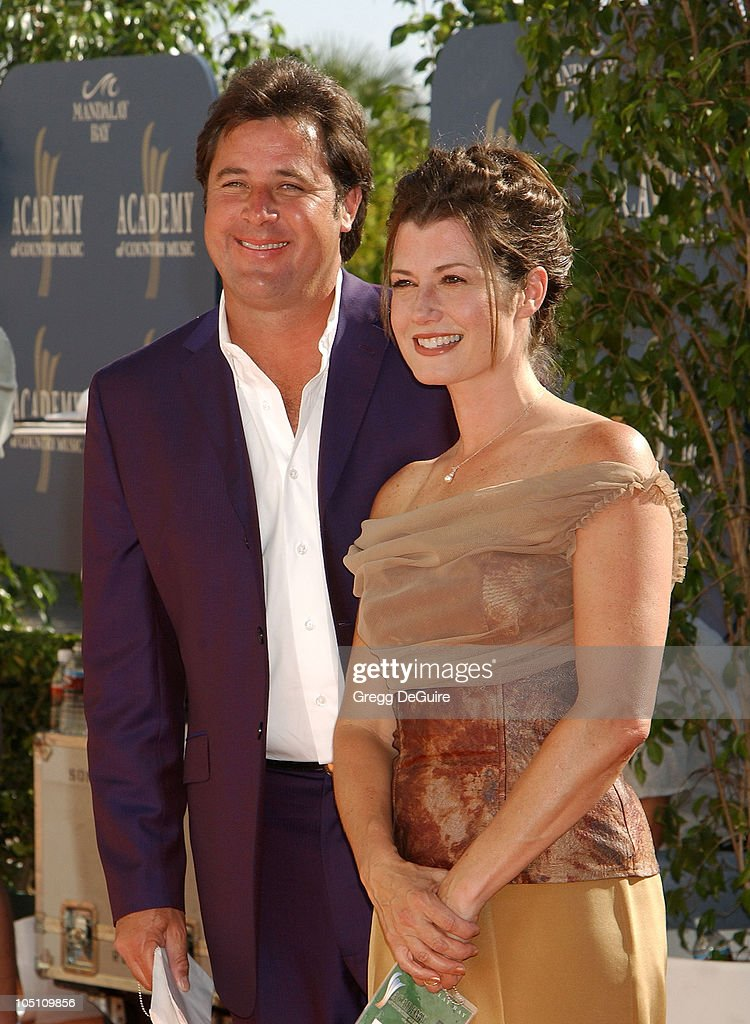 Vince Gill Amy Grant during 38th Annual Academy of Country Music Awards Arrivals at Mandalay Bay Event Center in Las Vegas Nevada United States