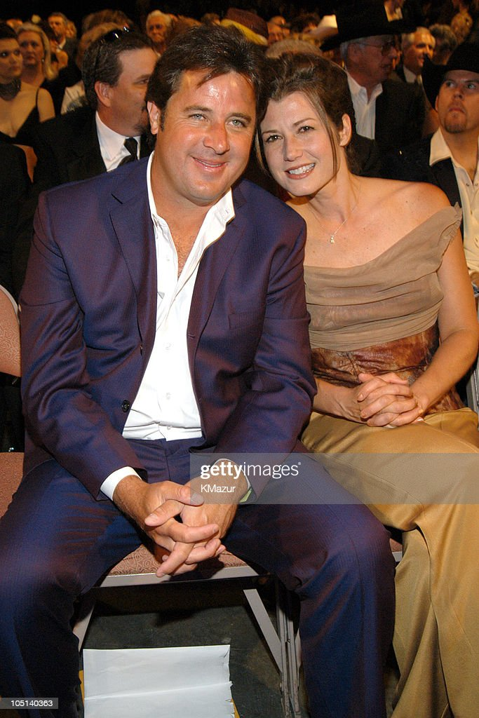 Vince Gill and Amy Grant during 38th Annual Academy of Country Music Awards Backstage and Audience at Mandalay Bay Events Center in Las Vegas Nevada...