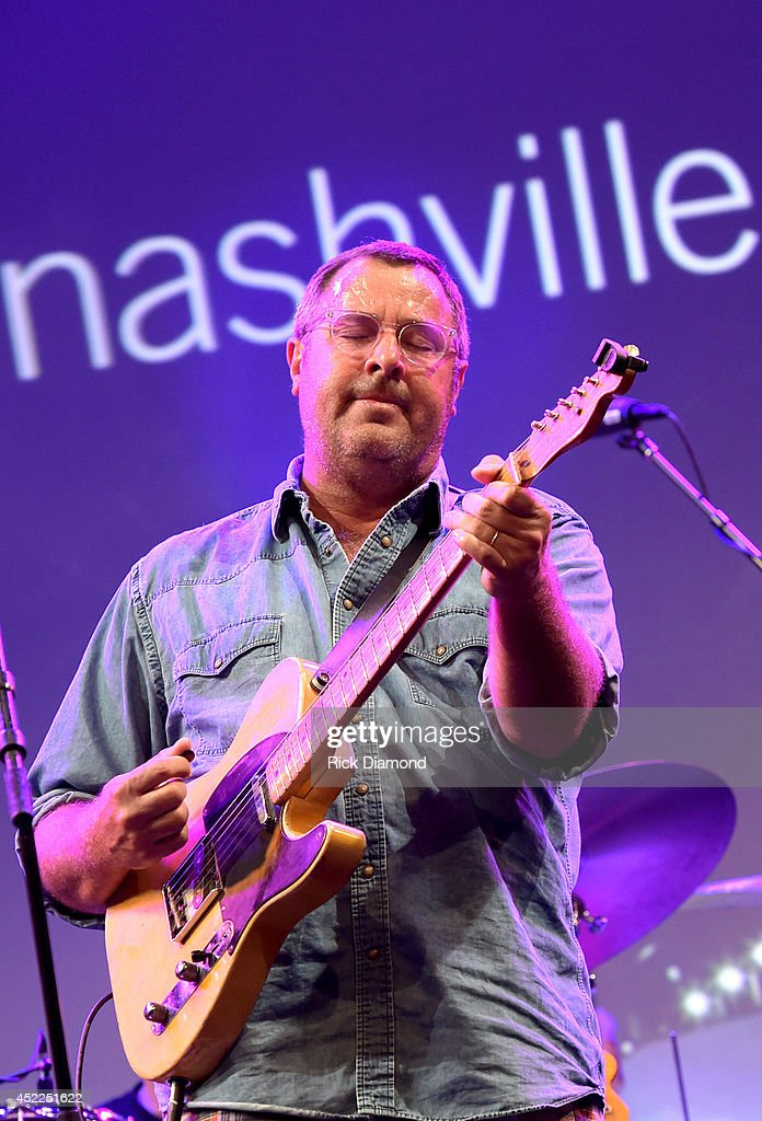Vince Gill Hosts 'Insight Iconic Artists And The Gear That Inspires Them' To Kick Off Summer NAMM July 1719 In Nashville at Music City Center on July...