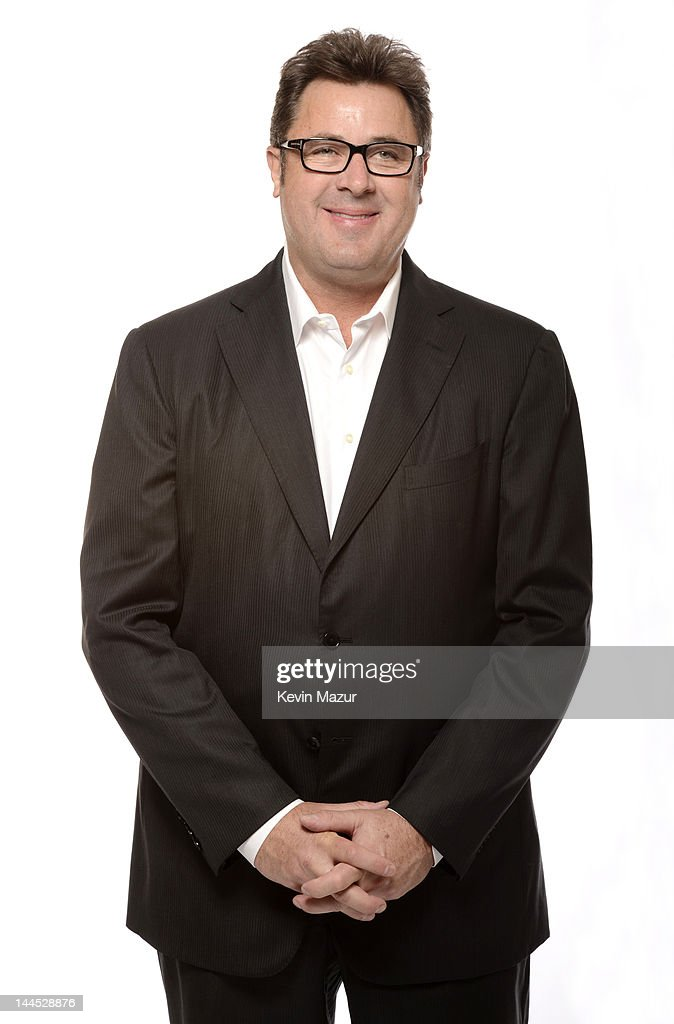 Vince Gill poses for a portrait during the Revlon concert for the Rainforest Fund at Carnegie Hall on April 3 2012 in New York City