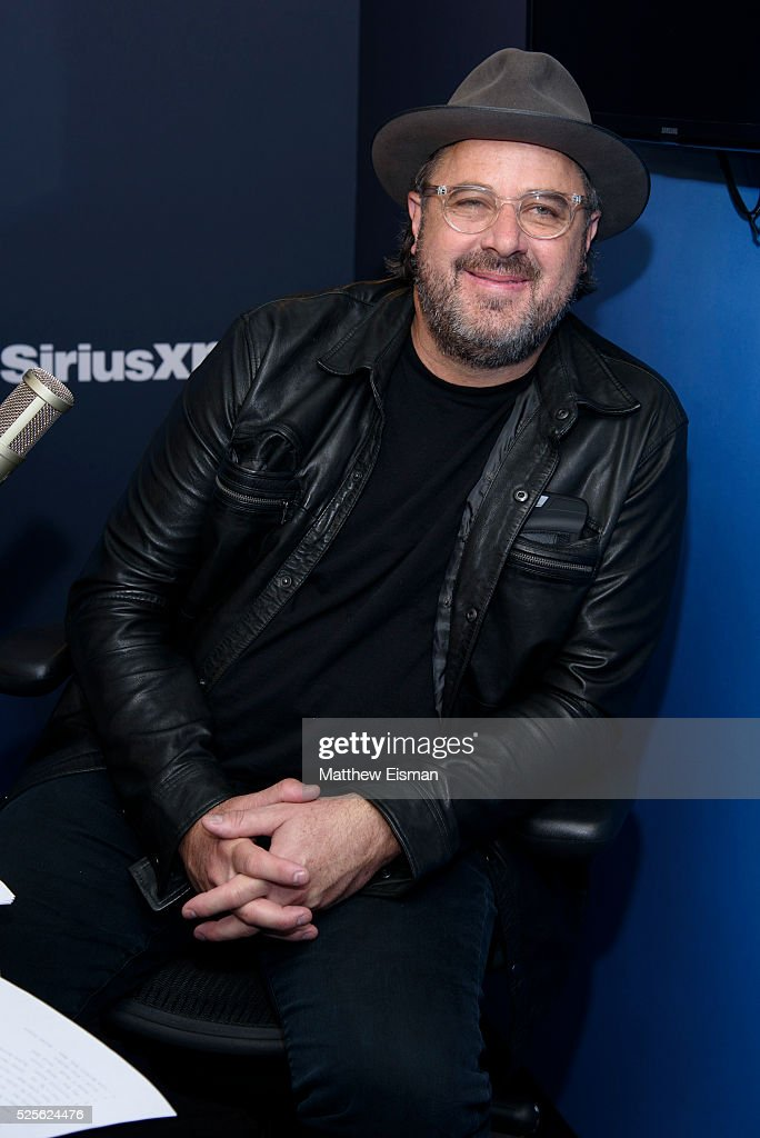 Vince Gill visits at SiriusXM Studio on April 28, 2016 in New York City.