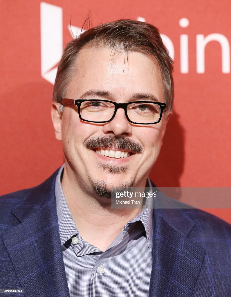 Vince Gilligan arrives at The Hollywood Reporter's Annual Nominees Night party held at Spago on February 10 2014 in Beverly Hills California