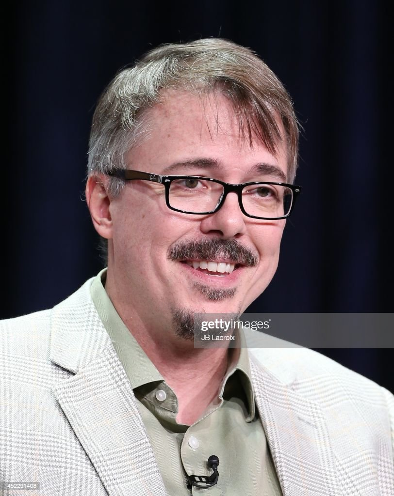 Vince Gilligan attends the 2014 Summer Television Critics Association at The Beverly Hilton Hotel on July 17 2014 in Beverly Hills California