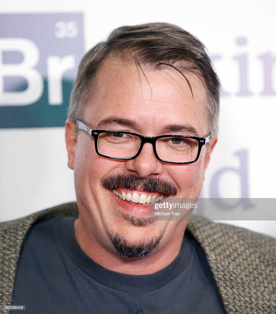 Vince Gilligan attends the 'No Half Measures Creating The Final Season Of Breaking Bad' DVD launch held at Pacific Theatre at The Grove on November...