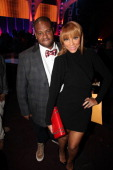 Vince Herbert and Tamar Braxton attend the Soul Train Awards 2012 at Planet Hollywood Casino Resort on November 8 2012 in Las Vegas Nevada