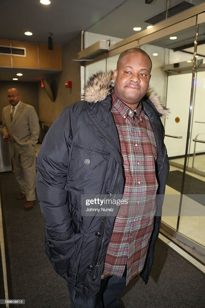 Vince Herbert visits BET's '106 & Park' at BET Studios on January 17, 2013 in New York City.