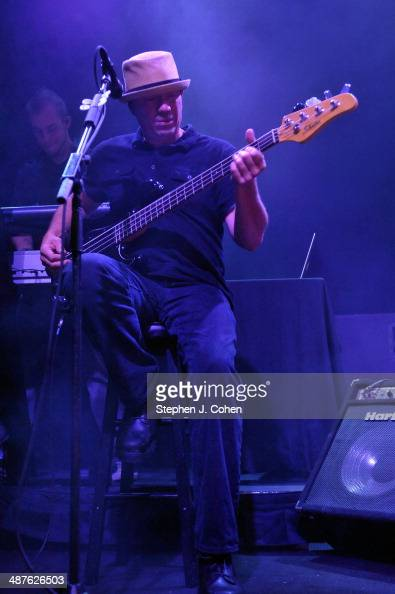 Vince Hornsby of Sevendust performs at the Mercury Ballroom on April 30 2014 in Louisville Kentucky