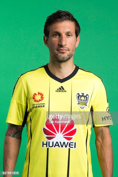Vince Lia poses during the 2016/17 ALeague Wellington Phoenix Headshot Session on September 18 2016 in Sydney Australia