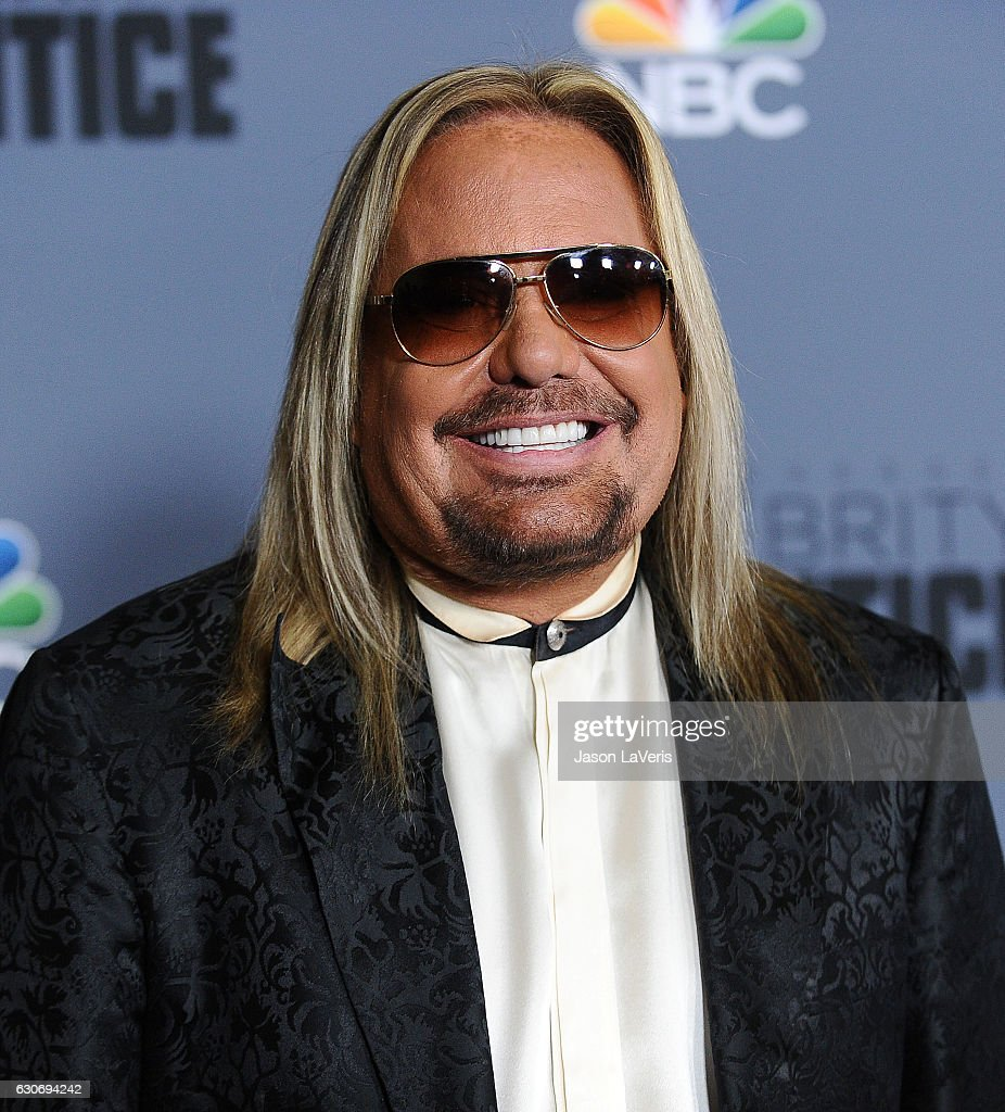 Vince Neil attends the press junket For NBC's 'Celebrity Apprentice' at The Fairmont Miramar Hotel & Bungalows on January 28, 2016 in Santa Monica, California.