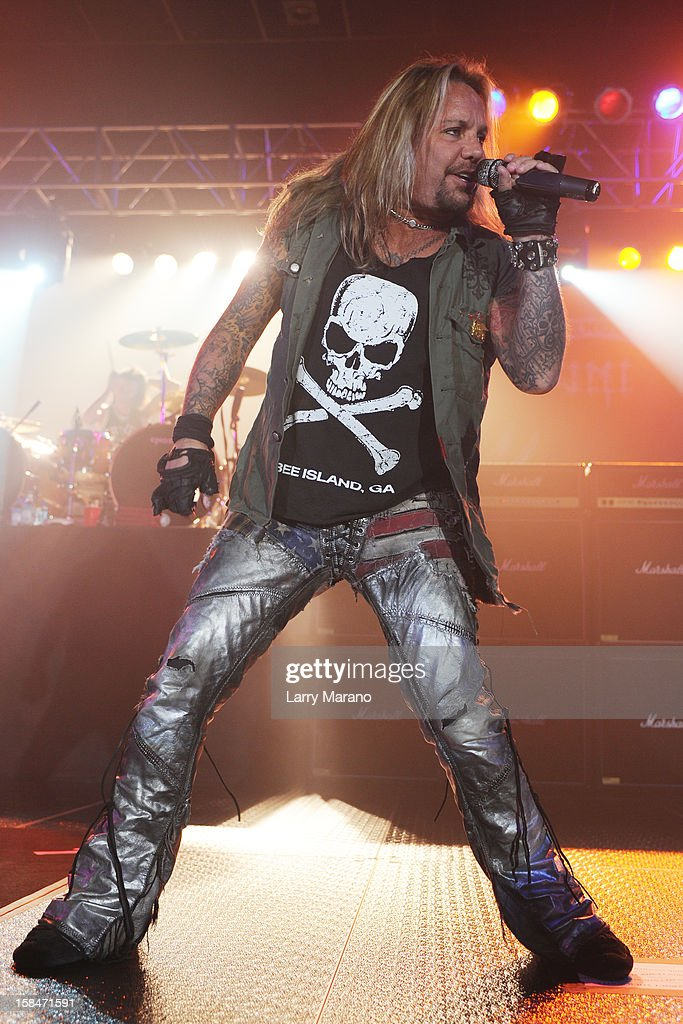 Vince Neil performs at Seminole Casino Coconut Creek on December 15, 2012 in Coconut Creek, Florida.