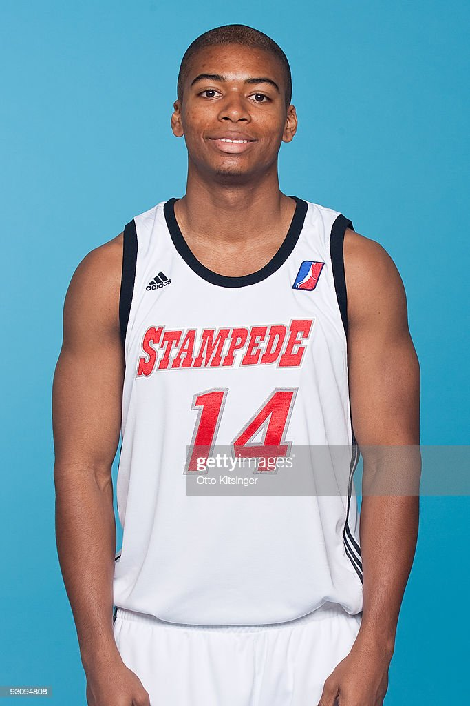 Vince Oliver of the Idaho Stampede poses for a portrait during the team's 200910 Media Day on November 16 2009 at the Boys and Girls Club in Boise...