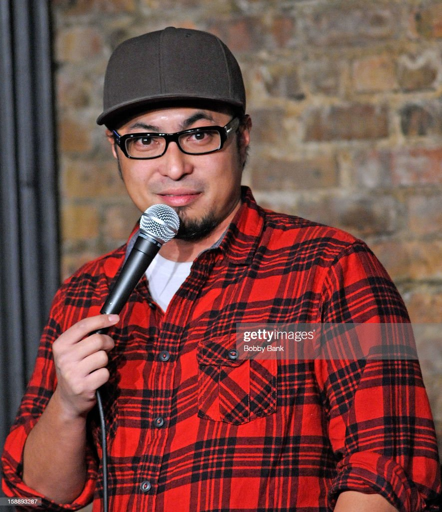 Vince Royale performs at The Stress Factory Comedy Club on January 2, 2013 in New Brunswick, New Jersey.