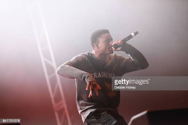 Vince Staples performs at Electric Picnic Festival at Stradbally Hall Estate on September 1 2017 in Laois Ireland