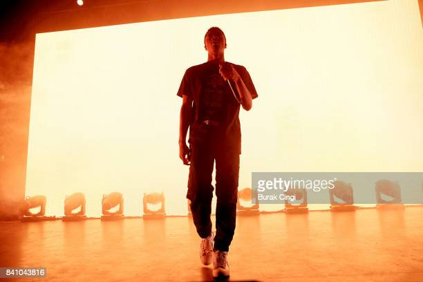 Vince Staples performs at O2 Forum Kentish Town on August 30 2017 in London England
