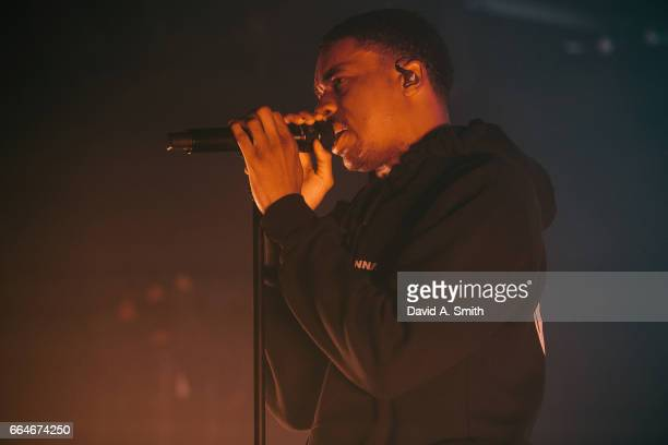 Vince Staples performs at Saturn Birmingham on April 4 2017 in Birmingham Alabama