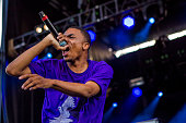 Vince Staples performs during Brooklyn's Northside Festival at 50 Kent Avenueon June 14 2015 in the Brooklyn borough of New York City