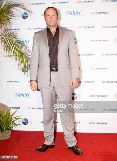 Vince Vaughn arrives ahead of the Couples Retreat Film premiere at Event Cinemas George street on 1st October 2009 in Sydney Australia