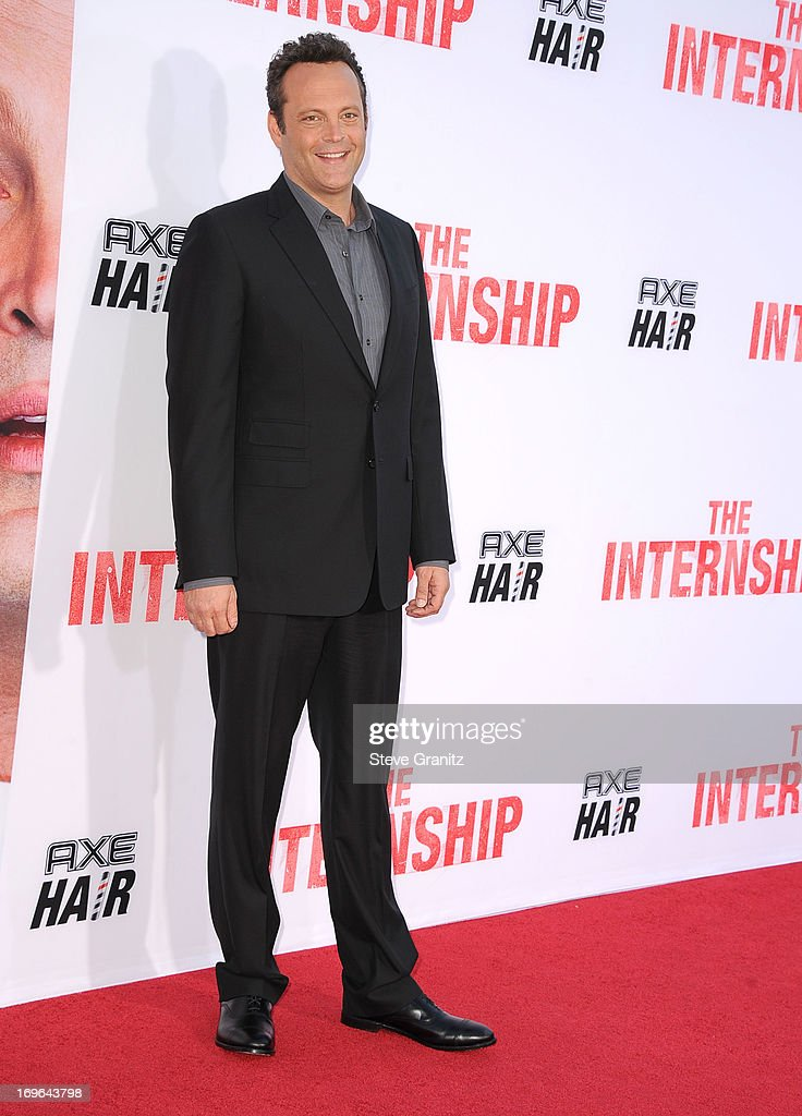 Vince Vaughn arrives at 'The Internship' - Los Angeles Premiere at Regency Village Theatre on May 29, 2013 in Westwood, California.