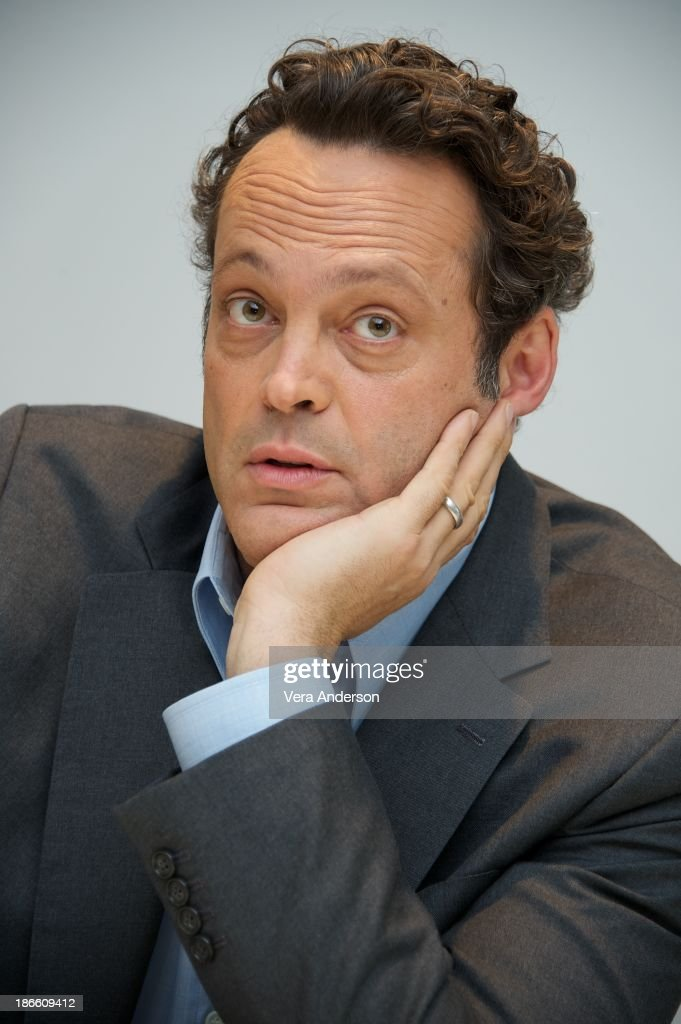 <a gi-track='captionPersonalityLinkClicked' href=/galleries/search?phrase=Vince+Vaughn&family=editorial&specificpeople=182440 ng-click='$event.stopPropagation()'>Vince Vaughn</a> at the 'Delivery Man' Press Conference at the Four Seasons Hotel on November 1, 2013 in Beverly Hills City.