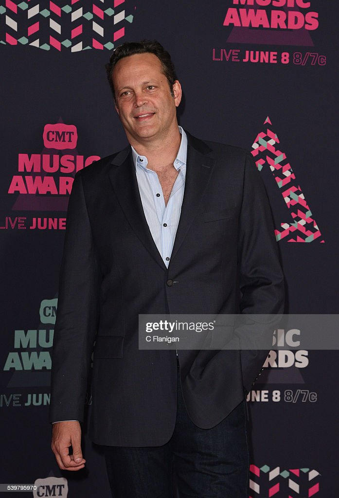 Vince Vaughn attends the 2016 CMT Music awards at the Bridgestone Arena on June 8 2016 in Nashville Tennessee