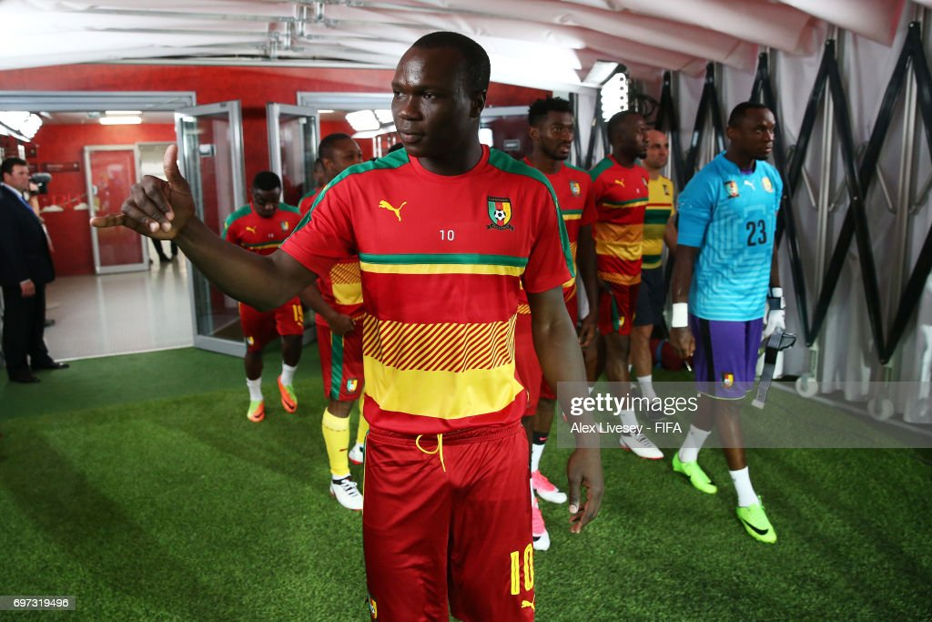 Cameroon v Chile: Group B - FIFA Confederations Cup Russia 2017