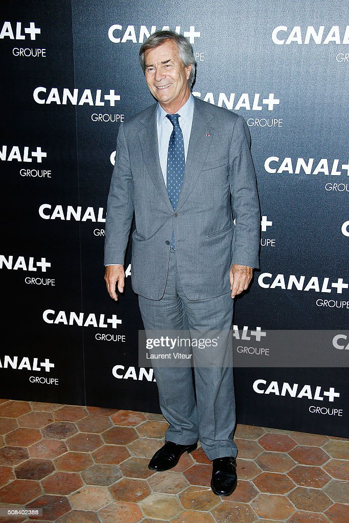 Vincent Bollore attends the 'Canal + Animators' Party At Manko on February 3, 2016 in Paris, France.